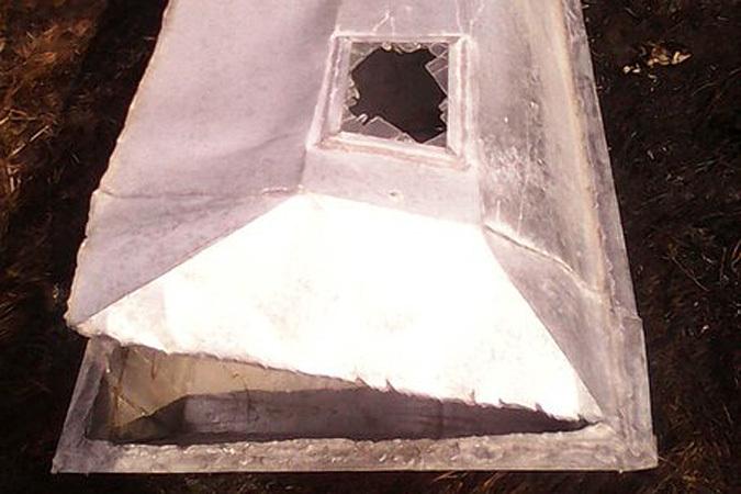 Цинковый гроб для